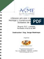 curso APi 650 y 653