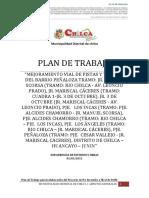 PLAN de TRABAJO - Barrio Peñaloza