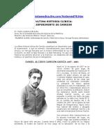 La Ultima Historia Clinica.el Experimento de Carrion