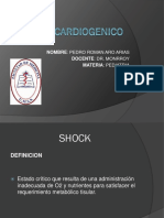 Shock Cardiogenico Pediatria