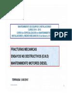 Fracturas en Motores Diesel