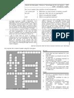 Job Interview - Crossword