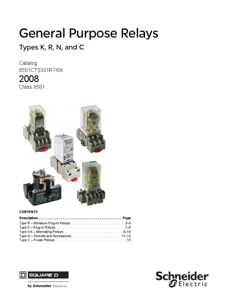 general purpose relay pdf relay switchSquare Dr Relay Type Kp12v20wiring Diagram #12