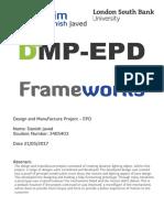 Danish Javed_3405403_Frameworks Project Report