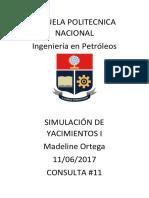 simulacion de yacimientos