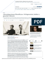 «Investigaciones filosóficas»_ Wittgenstein, hablar y guardar silencio.pdf