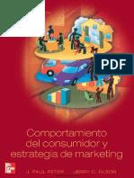Comportamiento Del Consumidor y Estrategia de Marketing J. Paul Peter y Jerry C. Olson