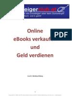 Online eBooks Verkaufen