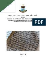 Curso de Introdução a Bíblia Paulo Cesar