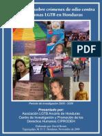 InformeCrimenesdeOdioFinalenHonduras