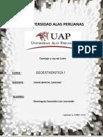 Trabajo Final de Geoestadistica