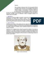 Aristotoles y Escuela Estoica
