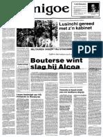 Bouterse wint slag bij Alcoa