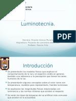 Presentacion luminotecnia
