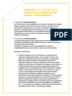 Aplicaciones de La Primera Ley de La Termodinamica en La Industria Del Petroleo y Petroquimica (1)