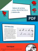 Diapositiva Letra