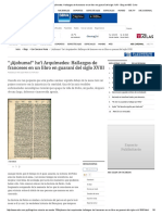 """¡Ajohuma!"" He'i Arquímedes_ Hallazgos de Franceses en Un Libro en Guaraní Del Siglo XVIII - Blog en ABC Color"