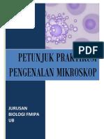 Buku Praktikum Penggunaan Mikroskop BIOlogi 2016 CETAK 100X