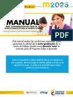 Manual Para Autograbacion Del Video de La Sesion de Trabajo Situado de Docentes Tutores