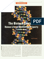 Biotech Century Human Life as Intellectual Property