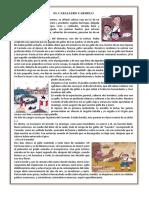 EL CABALLERO CARMELO FICHA DE APREND 4° SEC