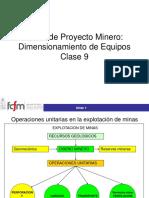 Dimensionamiento Equipos Mineros