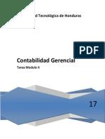 Ejercicio Modulo II Contabilidad Gerencial