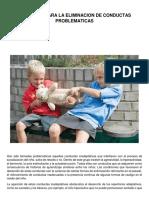 Progamas Para La Eliminacion de Conductas Problematicas, Manual Thalia