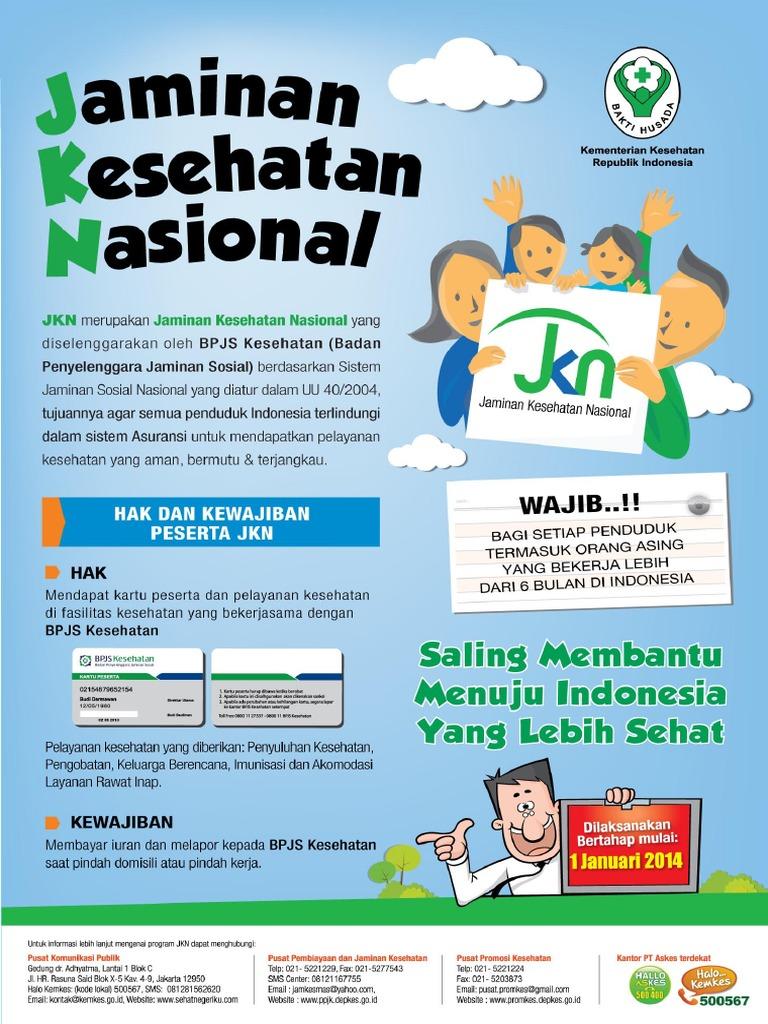 Poster 1 Manfaat Jkn Hak Dan Kewajiban Pdf
