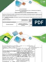 Guia de Actividades y Rúbria de Evaluación - Taller 1. Fundamentación Teórica en Higiene y Seguridad Laboral