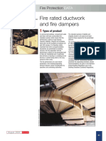 Fire Rated Ductwork & Fire Dampers