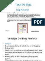 Los Tipos De Blogs