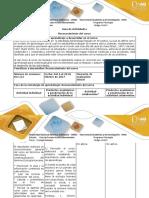 Guía de Actividades y Rúbrica de Evaluación - Reconocimiento Del Curso