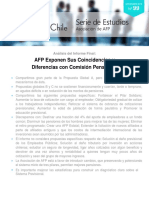 Serie Estudios N 99 Opinion AAFP Informe Comision Bravo 2015