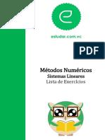 809-Lista de Exercícios - Sistemas Lineares.original