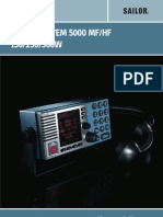 User Manual Sailor System 5000 Mfhf 150w 250w 500w