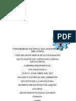 Documents.mx Estudio de La Mina Tambomachay 1docx