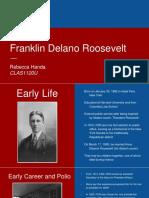 Franklin D. Roosevelt Presentation