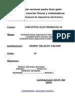 Tercer Informe Electronicos III
