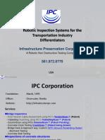 Robotics Inspection System For Transportation Infrastructure Inspections
