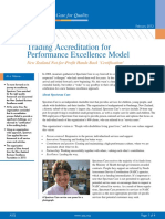 ASQ Trading Accreditation for Performance Excellence