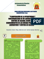 Planificación de La Operatividad y Funcionabilidad