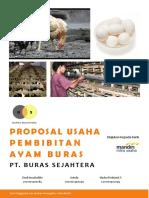 Proposal Studi Kelayakan Usaha Pembibitan Ayam Buras