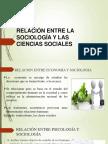 Ciencias Sociales y Sociologia