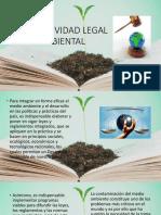 Normatividad Legal Ambiental