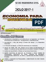 Clase 01 Economia Para Ing 2017 i