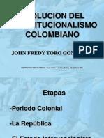 (1) Tres Etapas Del Constitucionalismo Colombiano