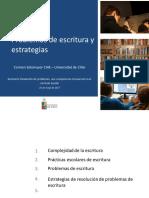 Carmen Sotomayor Problemas de Escritura y Estrategias