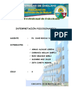 Interpretacion Psicodinamica (Expo Mirla)