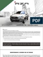 Manual de Pro Pietari o Dodge Forza